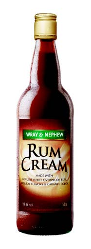 WRAY & NEPHEW RUM CREAM IN FOR WINTER