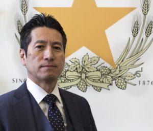 Yoshihito Kuzuhara, President. Sapporo USA.