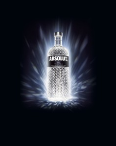 Absolut Spark limited edition bottle