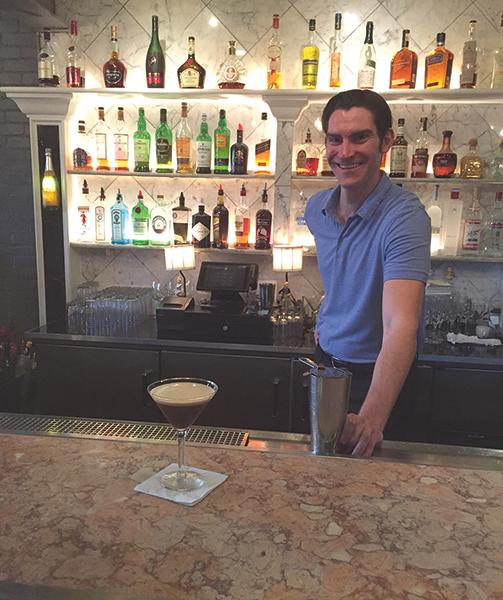 Sasha Spoerri, Bar Manager, Al Forno.
