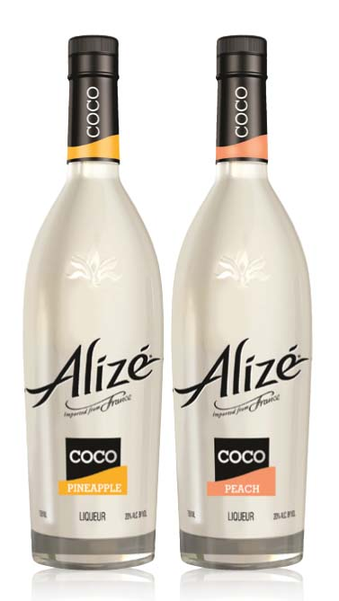 ALIZÉ INTRODUCES COCO PINEAPPLE AND COCO PEACH