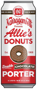 Narragansett Allie's Donuts Double Chocolate Porter.