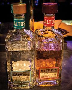 Olmeca Altos Plata and Reposado Tequila.