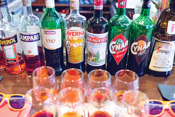 The Eddy Hosts Italian Spirits Seminar