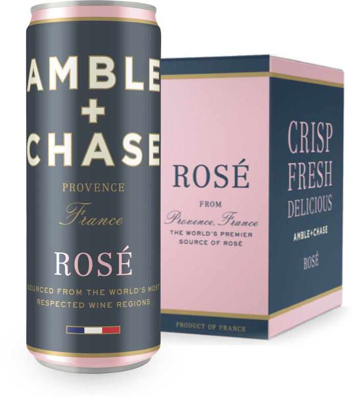 Winebow Releases Amble + Chase Rose