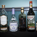 A lineup of products from Anchor Distilling Co.'s spirit portfolio.