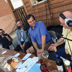 "Stephen Gencarella, Professor, University of Massachusetts Amherst and Adult Beverage Specialist, iCRV Radio; Julius Angelini, Angelini Wines Ltd.; Mark Griswold, Radio Host on ""Fermented,"" iCRV Radio; Paul Partica, The Cheese Shop, Centerbrook."