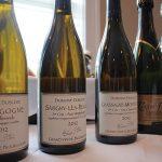 Domaine Dublere and Laurent Thibault wines.