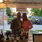 Julius Angelini of Angelini Wines Ltd. and his wife, Renee.