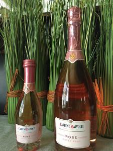 angelini brut rose bottle