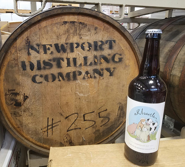 Newport Storm Brewery Releases Farmhouse Ale