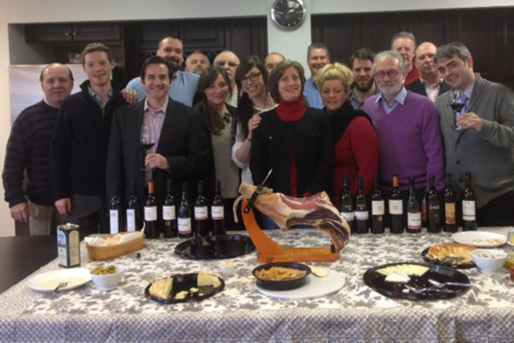 Codorníu Wines Brings Spain to NEWS Sales Meeting