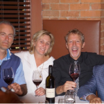 Garret Stonehouse, Owner, Aventine Hill Importers; Jodi Stonehouse, President, Aventine Hill Importers; David Squires, Sales Director, Aventine Hill Importers; Bob Patchen, Owner, Paci Restaurant.