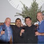 Bob Patchen, Owner, Paci Restaurant; Lazaro Alvarado, Sous Chef, Paci Restaurant; Gabriel Calle, Executive Chef, Paci Restaurant; Garrett Stonehouse, Owner, Aventine Hill Importers.