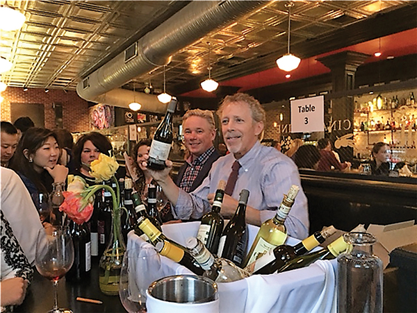 Karl Ronne, Owner, The Wine Thief and David Squires, Sales Director, Aventine Hill Importers.