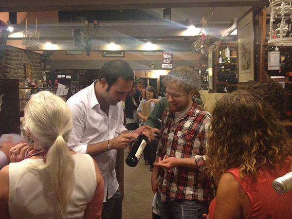 Divine Wine in Niantic Hosts Baracchi Winemaker