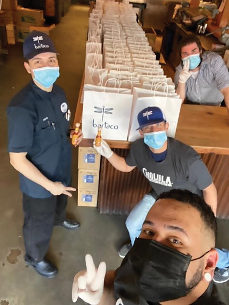 Bartaco Stamford Partnership Feeds Frontline Workers