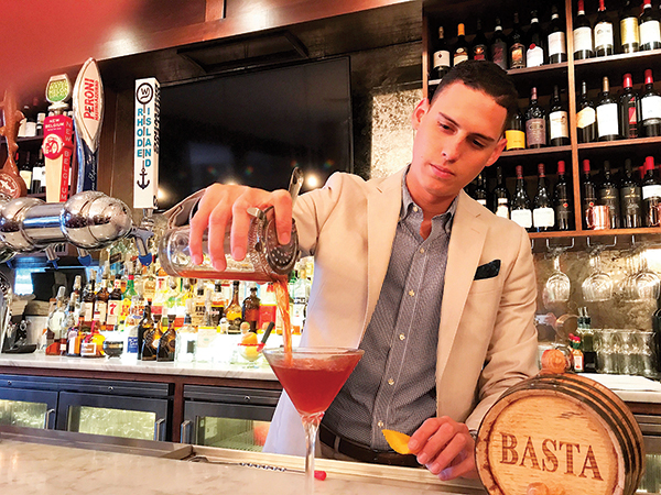 Serving Up: The Basta Negroni at Basta Restaurant