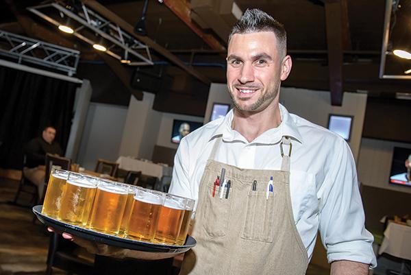 Marc Genovese, Server, Butchers & Bakers.