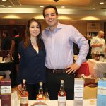 Mary Zalewa and Brennan Lowney of Pernod Ricard.