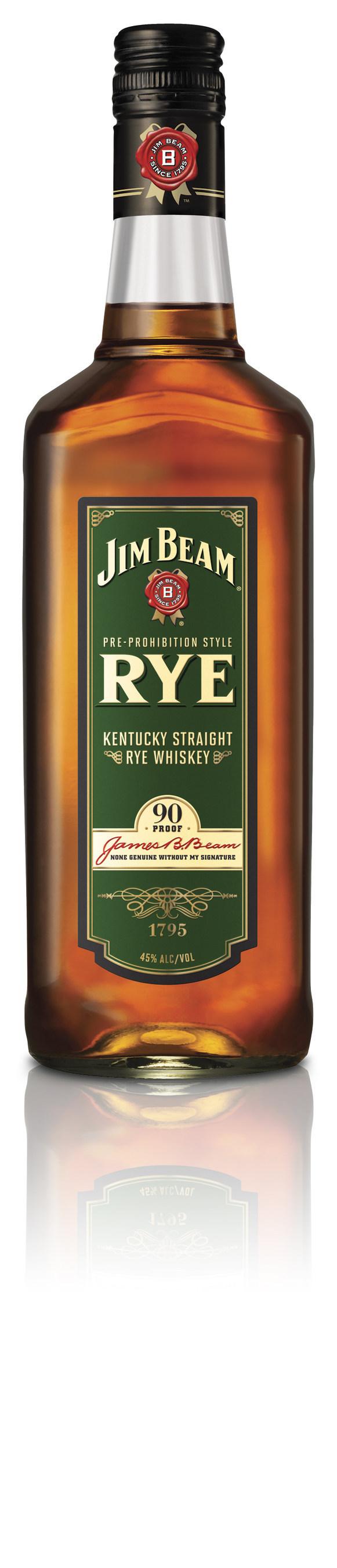 Jim Beam Releases New Premium Take On Rye Whiskey Staple