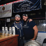 Thimble Island Brewing Company of Branford's Dane Nardi, Sales Representative and Dan Cole, Manager of Brewing Operations.