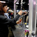 """Brittany Turiano, Tasting Room """"Beertender,"""" Two Roads Brewing Company of Stratford."""