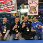 All from No Worries Brewing Company of Hamden: Geoff Herpok, Frank Sollitto and Mark Tibor.
