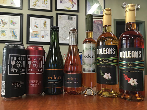 Best Beverage recently launched Bembel-With-Care, Pur and Kirsch style ciders; and Eden Ciders of Vermont, which includes its Orleans Herbal Apertif and Orleans Bitter Apertif.