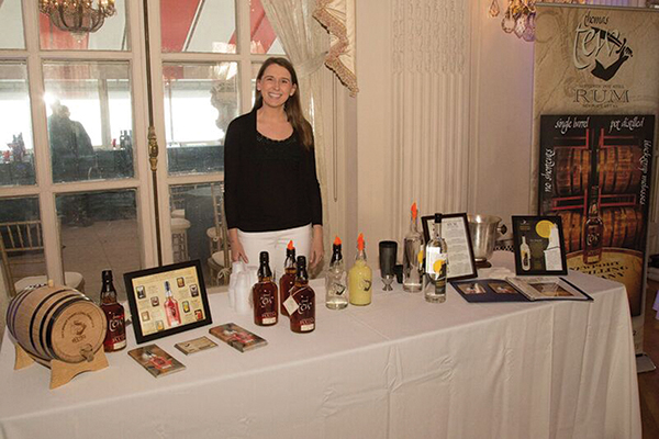 Claire Simpson-Daniel, Public Relations and Events Coordinator, Newport Storm Brewery and Newport Distilling Company, makers of Thomas Tew Rum.