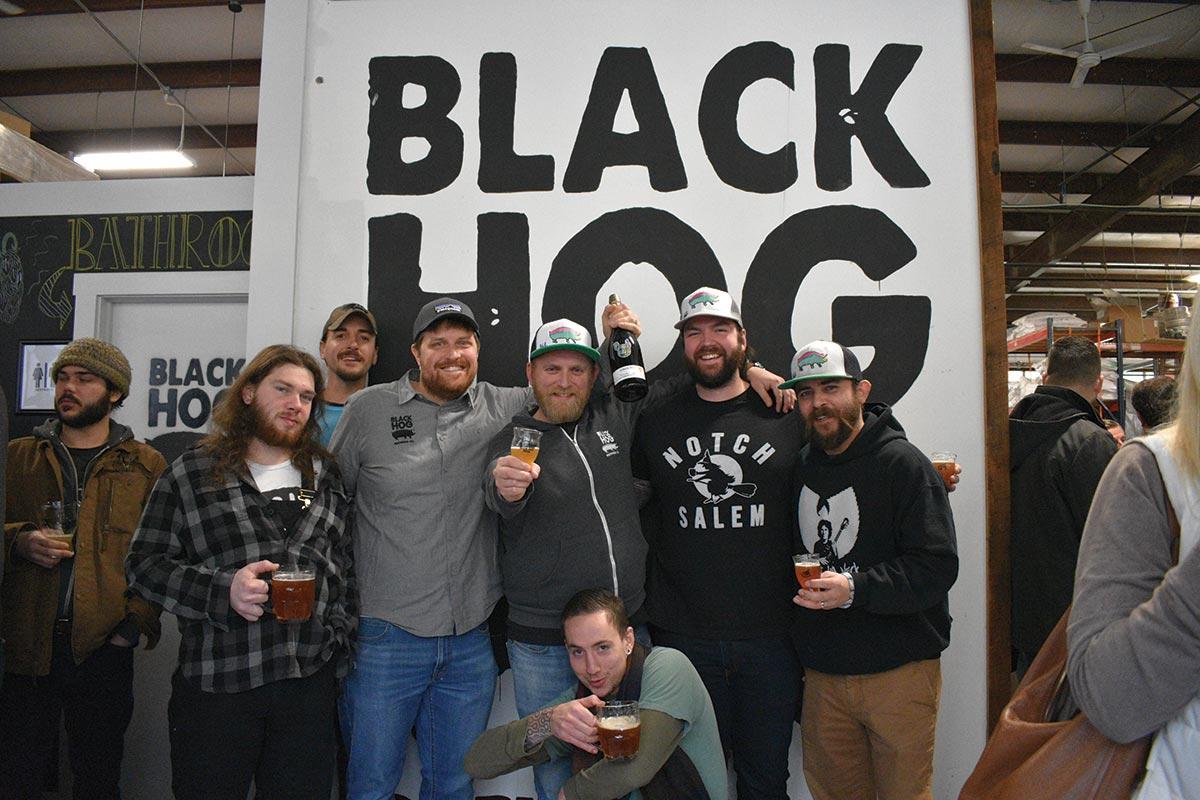 Black Hog Celebrates Barrel-Aged Beer at Brew Fest