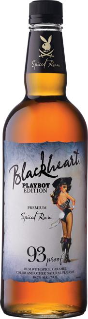 Blackheart Rum Pin-Up Goes 'Playboy Bunny'