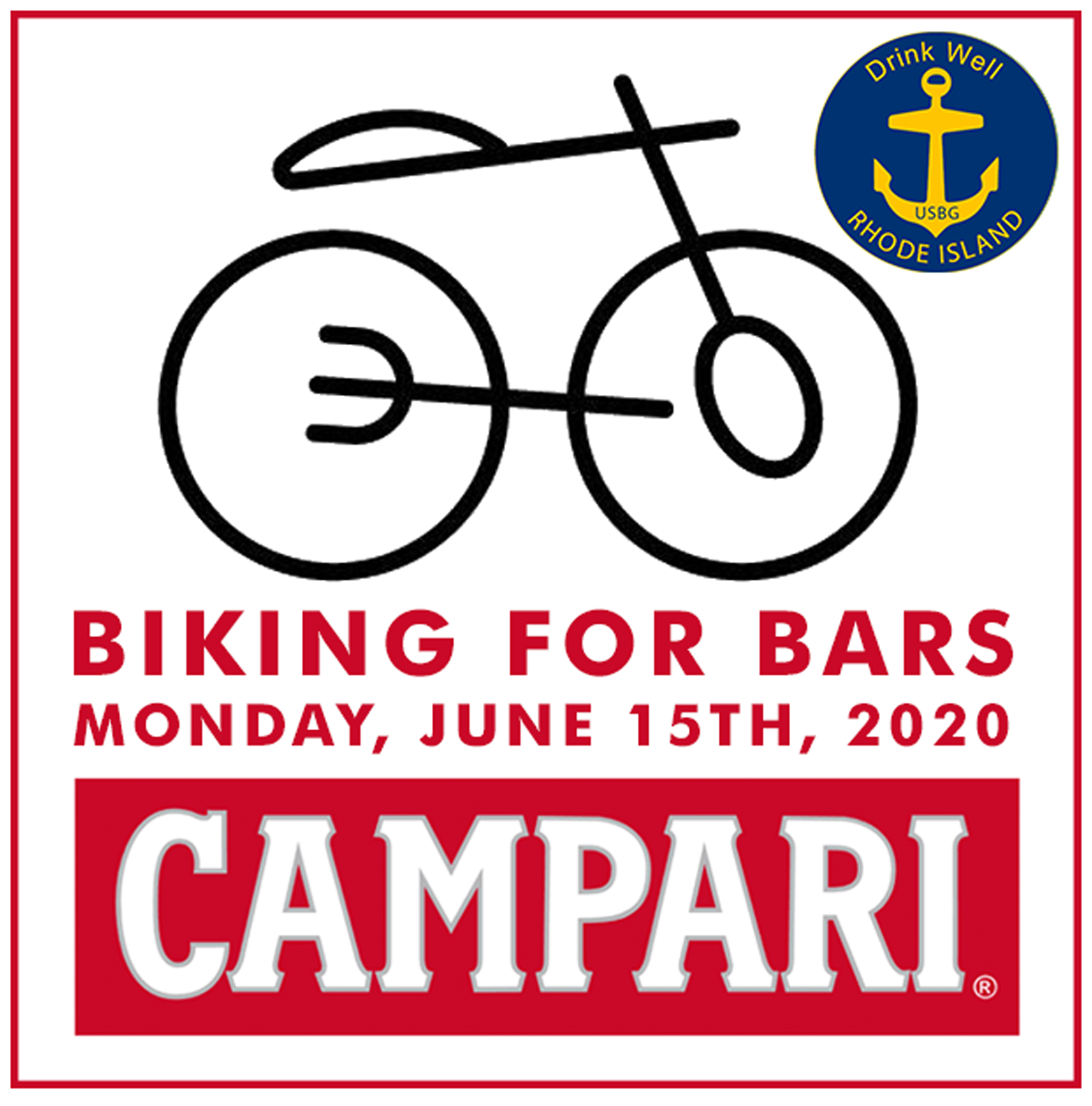 June 15, 2020: Biking for Bars Charitable Bike Ride