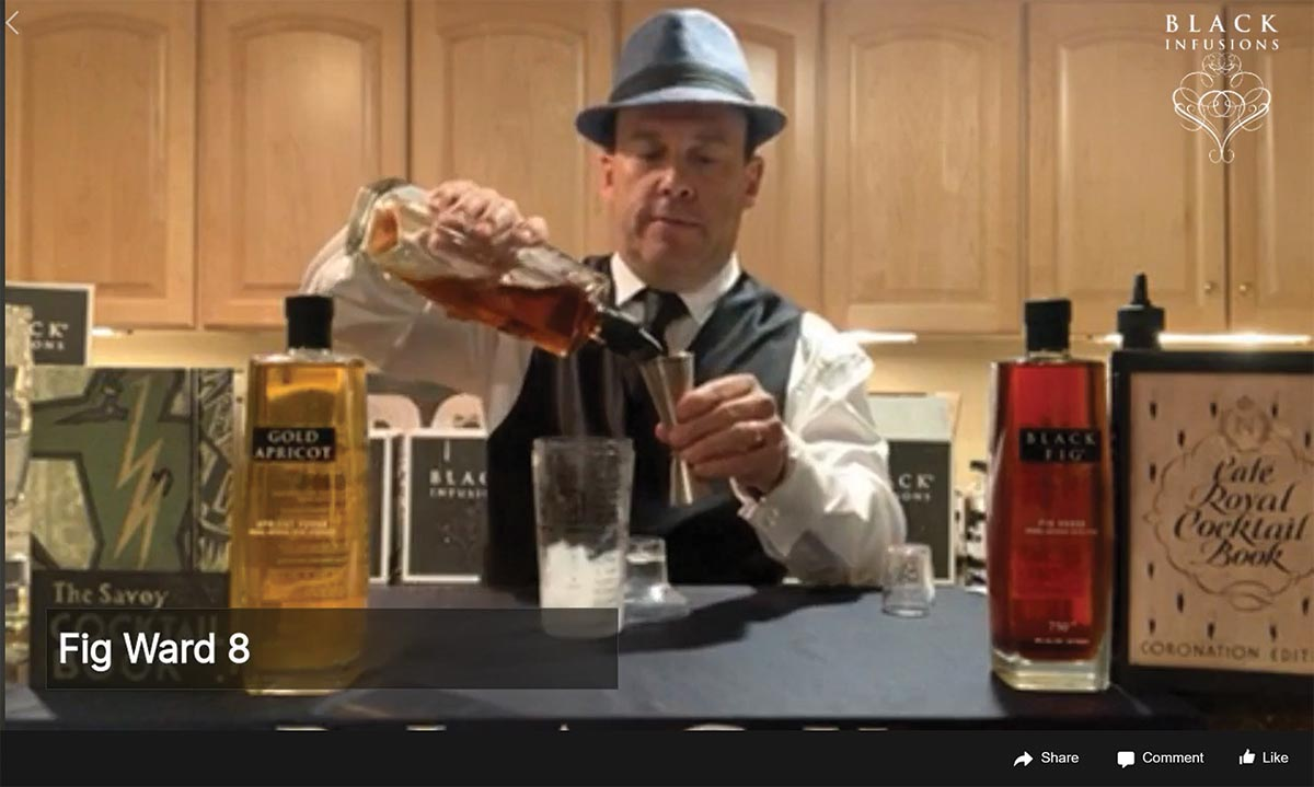 Black Infusions Hosts Prohibition-Themed Cocktail Demo