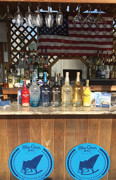 competing bartenders created cocktails featuring blue chair bay rum