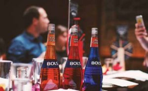 The Bols range comprises over 40 unique flavors, divided into different groups: citrus; orchard; berries; tropical; herbs & botanicals.