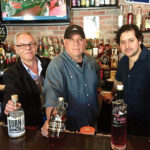 Bruno Recouvreur, Sales, Highland Imports with Donny Pierro and Elio Cavicchia, Black Cat Grille in Redding.