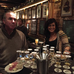 Mike Murphy, Administration, Brescome Barton with Sarah McArdle, Owner, Pub 57.