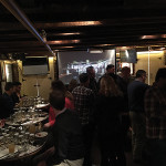 The crowd at the Irish Whiskey Experience held at New York City's Dead Rabbit.