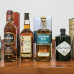 The products presented by William Grant & Sons at the sales meeting. Photos by Michael Leung.
