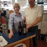 Dee and Tom Mulqueen, Owners, Hammonasset Package Store.