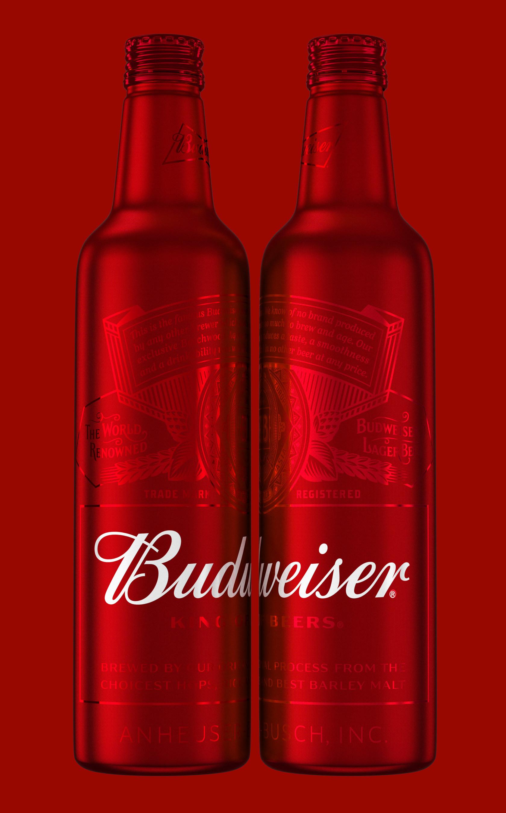 Budweiser Releases New Bottle Design for Holiday Season