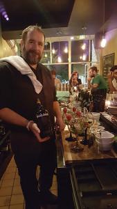 Sean Collins, Bartender, Oak Haven Table and Bar.