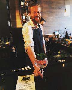 John Henderson, East Coast Ambassador, Bulldog London Dry Gin.