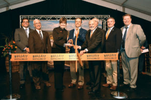 The Bulleit Distilling Co. ribbon-cutting event Tuesday, March 14, 2017, in Shelbyville, Ky.