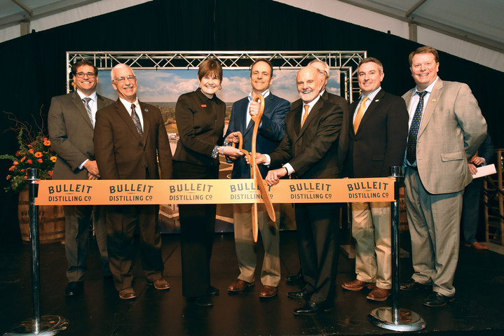 Bulleit Distilling Co. Celebrates New Distillery