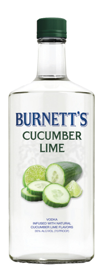 Burnett's Vodka Extends Line to Cucumber Lime