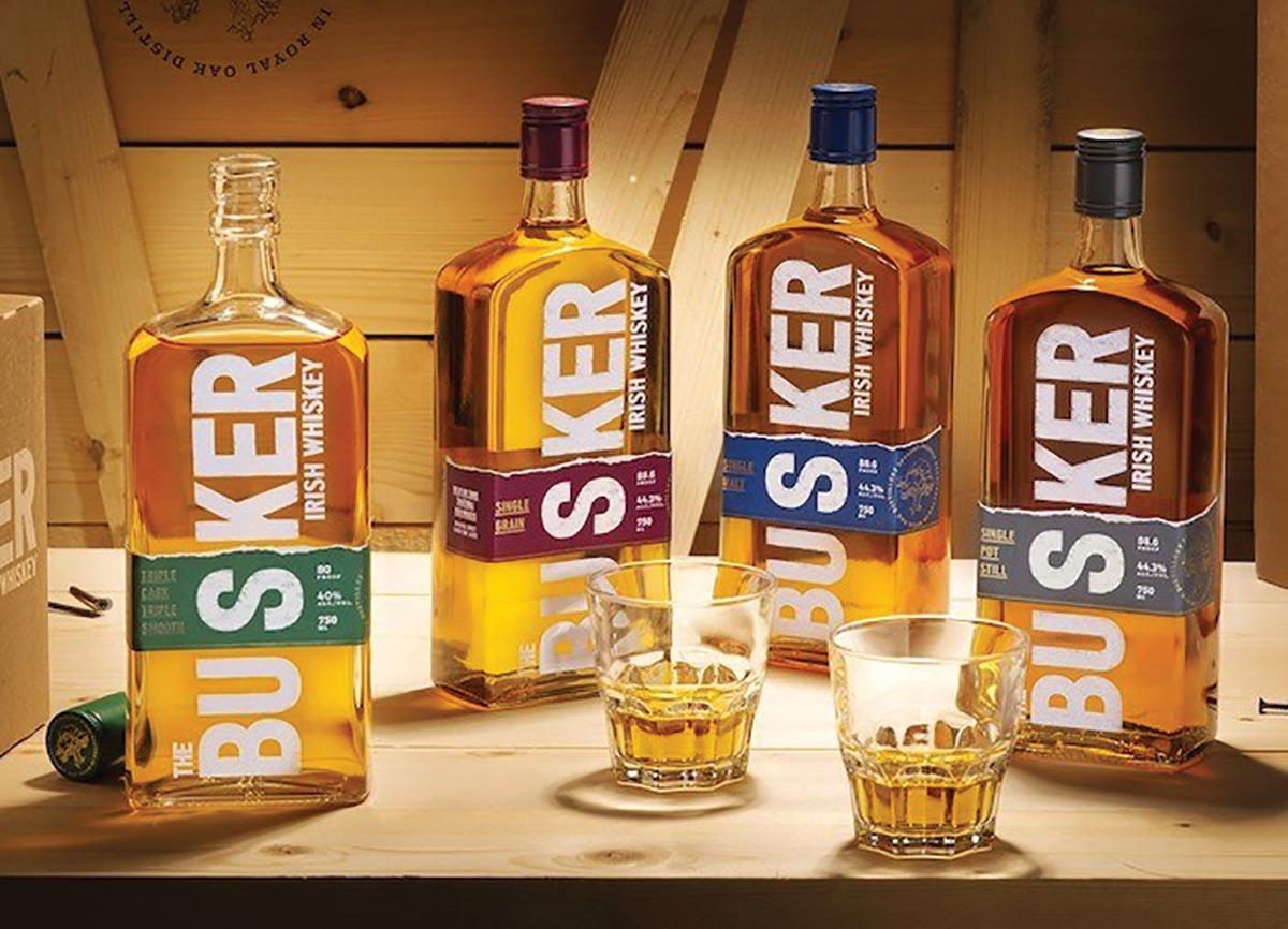 MS Walker Highlights The Busker Irish Whiskey