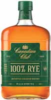 Canadian Club Releases 100% Rye