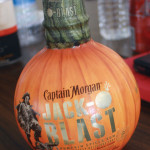 Recently launched Captain Morgan Jack-O' Blast.